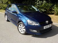 2013 VOLKSWAGEN POLO 1.4 MATCH EDITION 5d 83 BHP £8495.00