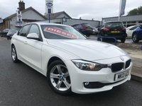 2013 BMW 3 SERIES 2.0 316D SE 4d 114 BHP £10977.00