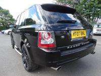 "USED 2007 07 LAND ROVER RANGE ROVER SPORT 3.6 TD V8 HSE 5dr 22"" OVERFINCH ALLOYS, FSH"