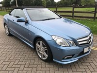 USED 2010 MERCEDES-BENZ E CLASS 3.0 E350 CDI BLUEEFFICIENCY SPORT 2d AUTO 231 BHP