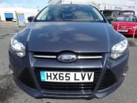 USED 2015 65 FORD FOCUS 1.6 TDCi Titanium (s/s) 5dr 1 OWNER, LEFT HAND DRIVE