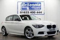 2014 BMW 1 SERIES 2.0 116D DIESEL M SPORT 5 DOOR 115 BHP £12390.00
