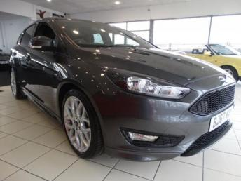 2017 FORD FOCUS 1.0 T EcoBoost ST-Line (s/s) 5dr £14995.00