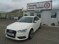 USED 2013 13 AUDI A3 1.4 TFSI SE 121 BHP £46 PER WEEK, NO DEPOSIT - SEE FINANCE LINK