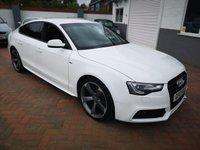 2013 AUDI A5 2.0 SPORTBACK TDI S LINE BLACK EDITION S/S 5d AUTO 175 BHP £16995.00
