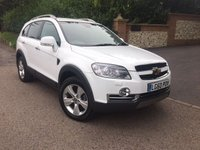 USED 2010 60 CHEVROLET CAPTIVA 2.0 LTZ VCDI 5d AUTO 148 BHP PLEASE CALL TO VIEW