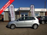 2006 VOLKSWAGEN POLO 1.4 S 5DR AUTOMATIC 75 BHP £2640.00