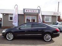 2011 VOLKSWAGEN CC 2.0 CC GT TDI BLUEMOTION TECHNOLOGY DSG 4DR AUTOMATIC DIESEL 170 BHP £SOLD