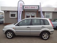 2005 FORD FUSION 1.4 FUSION 2 5DR HATCHBACK  80 BHP £1370.00