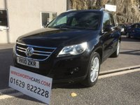 USED 2010 10 VOLKSWAGEN TIGUAN 2.0 SPORT TDI 4MOTION 5d 170 BHP ***1 OWNER FROM NEW*** F.S.H***CAMBELT AT 104K***