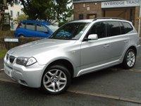 2006 BMW X3 3.0 D M SPORT 5d AUTO 215 BHP £4695.00
