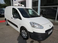 2013 PEUGEOT PARTNER REFRIGERATED  1.6 HDI  £2995.00