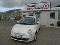 USED 2009 59 FIAT 500 1.4 SPORT 99 BHP £21 PER WEEK, NO DEPOSIT - SEE FINANCE LINK