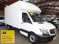 """USED 2015 15 MERCEDES-BENZ SPRINTER 2.1 313 CDI 129 BHP  LUTON VAN WITH TAIL LIFT-ONE OWNER-SERVICE HISTORY """"YOU'RE IN SAFE HANDS"""" - AA DEALER PROMISE"""