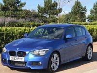 2012 BMW 1 SERIES 2.0 120D M SPORT 5d 181 BHP £9495.00
