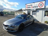 USED 2009 BMW 6 SERIES 3.0 635D SPORT AUTO 282 BHP £62 PER WEEK, NO DEPOSIT - SEE FINANCE LINK