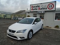 USED 2014 64 SEAT LEON 1.6 TDI SE TECHNOLOGY 105 BHP £37 PER WEEK, NO DEPOSIT - SEE FINANCE LINK