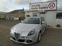 2011 ALFA ROMEO GIULIETTA 2.0 JTDM-2 VELOCE 170 BHP £5995.00