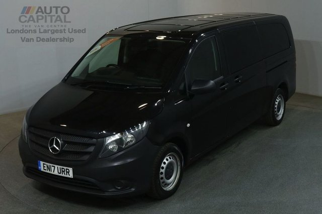 2017 17 MERCEDES-BENZ VITO 2.1 114 BLUETEC TOURER PRO EXTRA LWB 136 BHP AIR CON 9 SEATER EURO 6  £20,490+VAT EURO 6 ENGINE