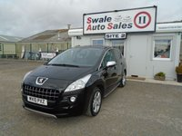 USED 2010 10 PEUGEOT 3008 1.6 EXCLUSIVE 155 BHP £25 PER WEEK, NO DEPOSIT - SEE FINANCE LINK