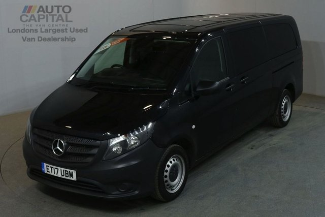2017 17 MERCEDES-BENZ VITO 2.1 114 BLUETEC TOURER PRO 136 BHP EXTRA LWB EURO 6 AIR CON 9 SEATER £20,990+ VAT EURO 6 ENGINE