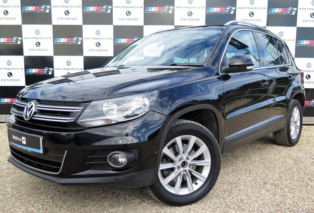 2012 61 VOLKSWAGEN TIGUAN 2.0 SE TDI BLUEMOTION TECHNOLOGY 4MOTION DSG 5d AUTO 138 BHP
