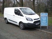 2013 FORD TRANSIT CUSTOM 2.2 270 LR P/V 1d 99 BHP £7595.00