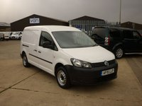 2015 VOLKSWAGEN CADDY MAXI 1.6 C20 TDI STARTLINE BLUEMOTION TECHNOLOGY 1d 101 BHP £6995.00