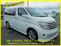 2003 NISSAN ELGRAND Rider Autec 3.5 4WD Automatic 8 Seats Full Leather, Twin Sunroofs £7750.00