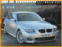 USED 2008 08 BMW 5 SERIES 2.0 520D M SPORT 4d AUTO 175 BHP *ONE OWNER, FULL BMW HISTORY*