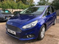USED 2015 65 FORD S-MAX 2.0 TITANIUM TDCI 5dr AUTO 148 BHP New Shape, 7 Seater, Auto, Full Ford History.