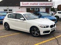 2015 BMW 1 SERIES 1.5D 116D Sport 5 door Diesel £12199.00