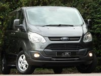 USED 2018 18 FORD TOURNEO CUSTOM 2.0 310 TITANIUM TDCI 5d AUTO 130 BHP 1 OWNER ONLY 1K 9 SEATER +++