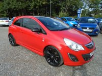 2012 VAUXHALL CORSA 1.2 i 16v Limited Edition 3dr (a/c) £4995.00