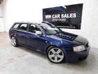 2004 AUDI A6 4.2 RS6 AVANT QUATTRO 5d AUTO 444 BHP £9981.00