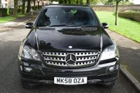 USED 2008 58 MERCEDES-BENZ M CLASS 3.0 ML 320 CDI EDITION 10 5d AUTO 222 BHP SERVICE HISTORY, REAR PRIVACY GLASS, FULL LEATHER, SIDE STEPS