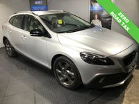 USED 2014 64 VOLVO V40 1.6 D2 CROSS COUNTRY LUX 5d 113 BHP ZERO Road tax      :      Bluetooth       :       DAB Radio       :      Contrasting leather upholstery     :   Climate Control/Air-Conditioning    :    Full service and MOT when sold