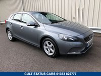 2014 VOLVO V40 1.6 T2 ES PETROL MANUAL WITH SAT NAV & LEATHER £10995.00