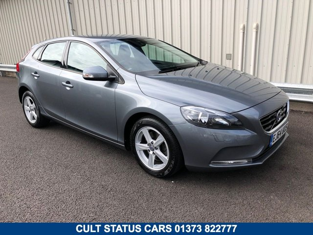 2014 64 VOLVO V40 1.6 T2 ES PETROL MANUAL WITH SAT NAV & LEATHER