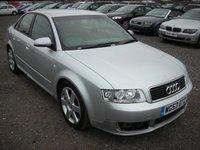 2003 AUDI A4 1.9 TDI SPORT 4d 129 BHP £1500.00