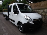 2014 RENAULT MASTER 2.3 ML35 DCI L/R DRW DROPSIDE 1d 125 BHP TAIL LIFT  £10995.00