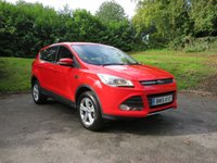 USED 2015 15 FORD KUGA 1.5 ZETEC 5d AUTO 180 BHP FULL MAIN DEALER HISTORY!