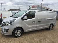 USED 2015 65 VAUXHALL VIVARO 1.6 2900 L2H1 CDTI P/V SPORTIVE 1d 114 BHP 51000 MILES CHOICE OF 5 IN STOCK AIR CONDITIONING
