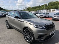 USED 2017 67 LAND ROVER RANGE ROVER VELAR 2.0 R-DYNAMIC HSE 5d 247 BHP Service inclusive plan, 21 inch alloys, R-Dynamic Black Pack ++