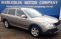 USED 2009 59 SKODA OCTAVIA 2.0 SCOUT TDI 5d 139 BHP TEN MAIN AGENT SERVICE STAMPS IN THE BOOK