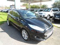 USED 2013 13 FORD FIESTA 1.0 ZETEC 3d 99 BHP 5 SERVICE STAMPS