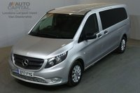 USED 2017 17 MERCEDES-BENZ VITO 2.1 114 BLUETEC TOURER SELECT 136 BHP EXTRA LWB EURO 6 AIR CON 9 SEATER AIR CONDITIONING EURO 6 ENGINE