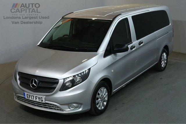 2017 17 MERCEDES-BENZ VITO 2.1 114 BLUETEC TOURER SELECT 136 BHP EXTRA LWB EURO 6 AIR CON 9 SEATER £23,490+VAT EURO 6 ENGINE