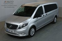 USED 2017 17 MERCEDES-BENZ VITO 2.1 114 BLUETEC TOURER SELECT EXTRA LWB 136 BHP EURO 6 AIR CON 9 SEATER AIR CONDITIONING EURO 6 ENGINE £77 ROAD TAX FOR 6 MONTHS