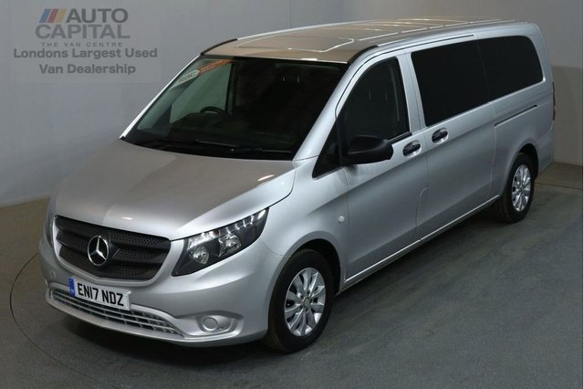 2017 17 MERCEDES-BENZ VITO 2.1 114 BLUETEC TOURER SELECT EXTRA LWB 136 BHP EURO 6 AIR CON 9 SEATER AIR CONDITIONING EURO 6 ENGINE £77 ROAD TAX FOR 6 MONTHS